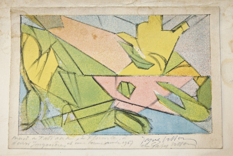 Jacques Villon, Composition abstraite